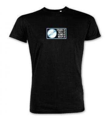 Disc Based Games (border)  premium t-shirt