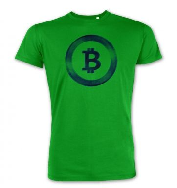 Distressed Bitcoin premium t-shirt