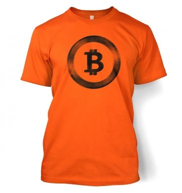 Distressed Bitcoin t-shirt