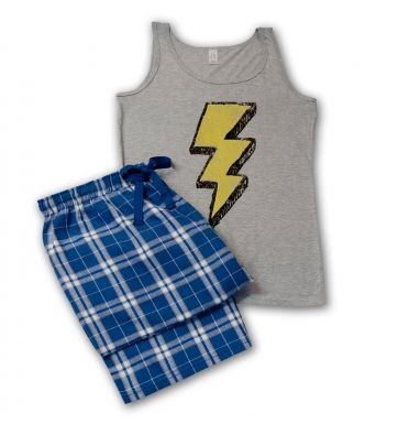 Distressed flash pyjamas (women's) pyjamas (women's)