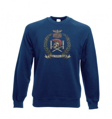 Distressed House Batiatus Crest  sweatshirt