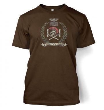 Distressed House Batiatus Crest men's t-shirt