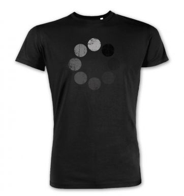 Distressed Loading Symbol premium t-shirt