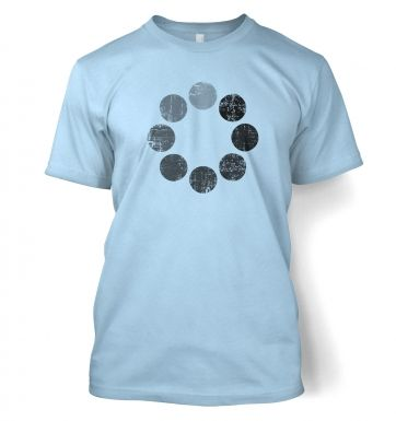 Distressed Loading Symbol t-shirt