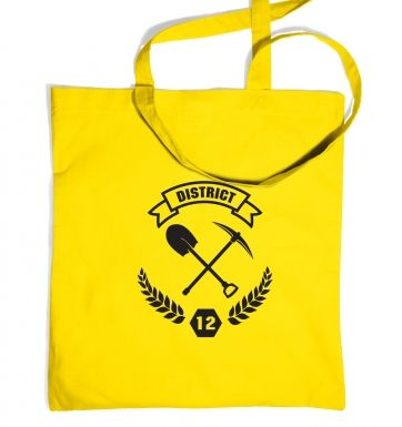 District 12 Tote Bag Inspired by The Hunger Games