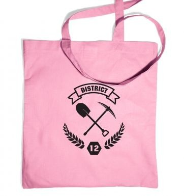District 12 tote bag