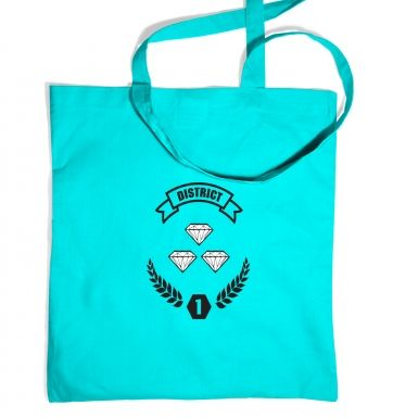 District 1 Tote Bag Inspired by The Hunger Games