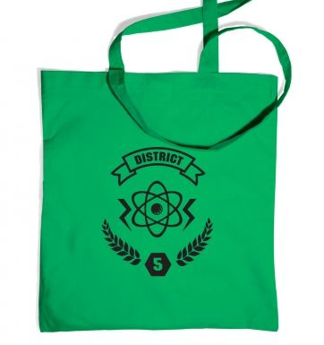 District 5 tote bag