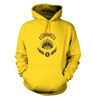 District 9 hoodie