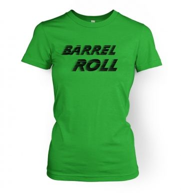 Do a barrel roll  womens t-shirt