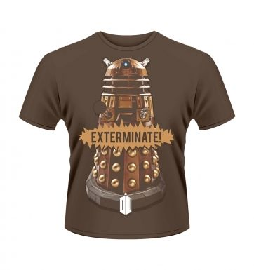 Doctor Who Gold Dalek t-shirt - OFFICIAL