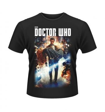 Doctor Who Poster t-shirt - OFFICIAL