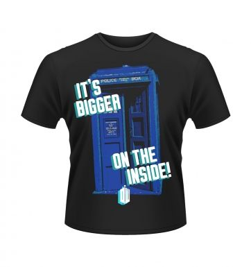 Doctor Who Tardis t-shirt - OFFICIAL