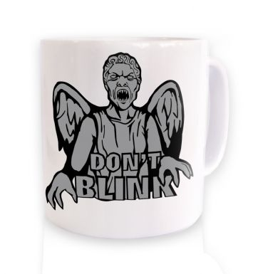 Don't Blink Weeping Angel mug
