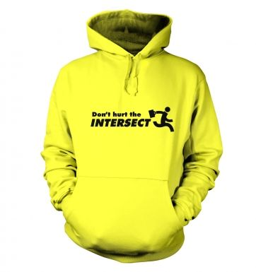 Don't Hurt The Intersect hoodie
