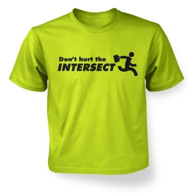 Don't Hurt The Intersect kids' t-shirt