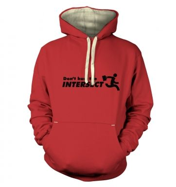 Don't Hurt The Intersect hoodie (premium)