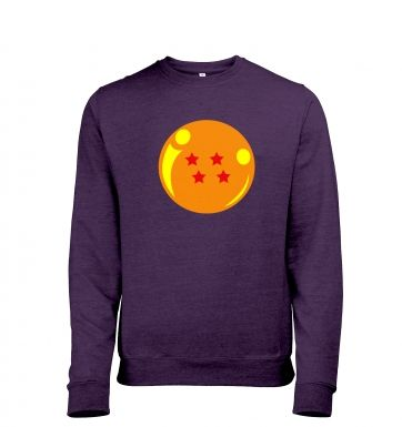 4Star Dragon Ball Mens Heather Sweatshirt