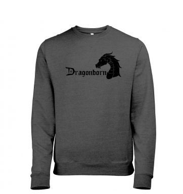 Dragonborn men's heather sweatshirt