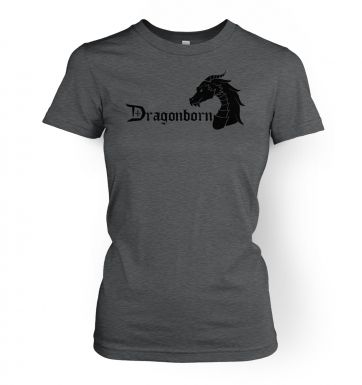 Dragonborn  womens t-shirt