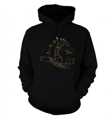 Gold Dragonslayer hoodie