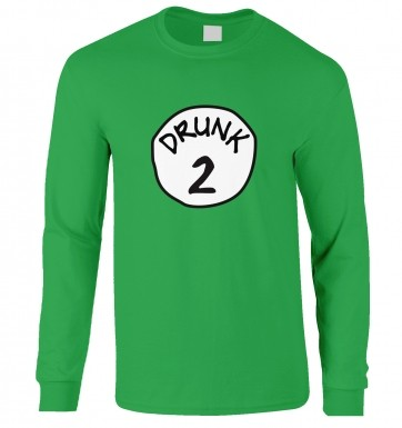 Drunk 2 long-sleeved t-shirt