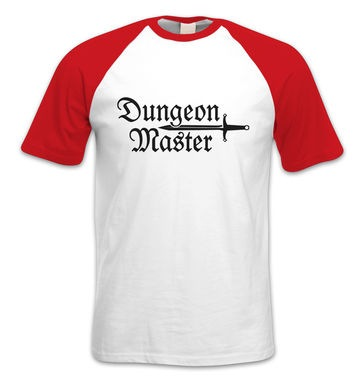 Dungeon Master short-sleeved baseball t-shirt