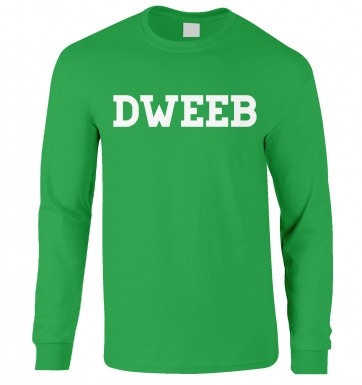 Dweeb long-sleeved t-shirt