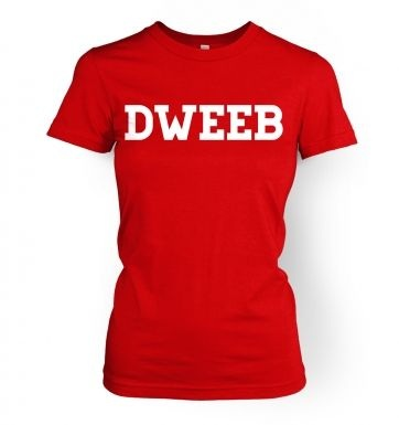 Dweeb women's t-shirt