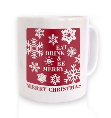 Eat, Drink & Be Merry Christmas Mug