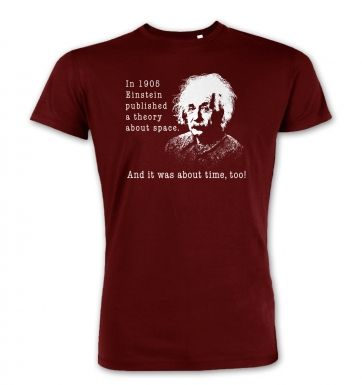 Einstein Had A Theory premium t-shirt