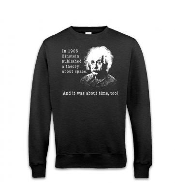 Einstein Had A Theory sweatshirt