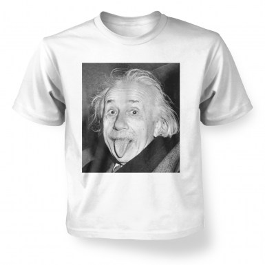 Einstein Tongue kids' t-shirt