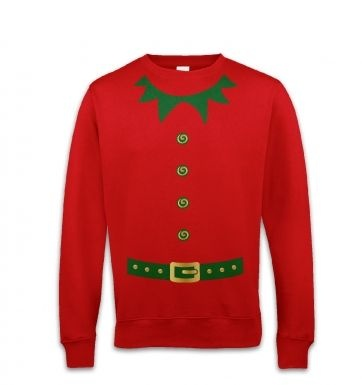 Elf costume (green detail)  sweatshirt