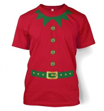 Elf Men's T-shirt (green detail)