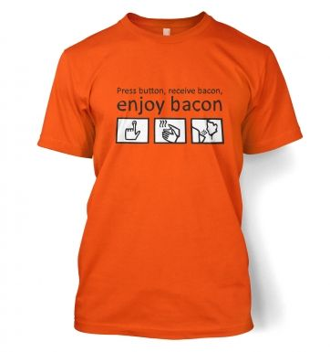 Enjoy Bacon men's t-shirt 