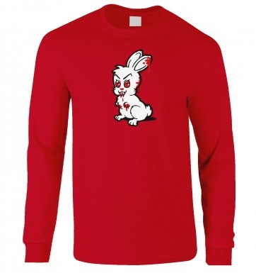 Evil Bunny long-sleeved t-shirt