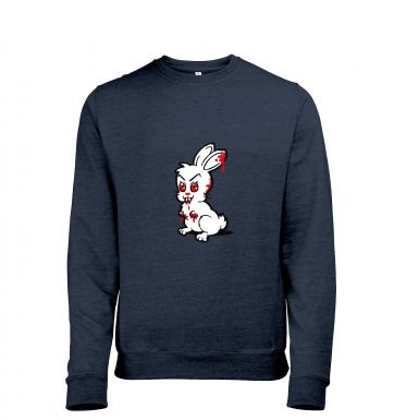 Evil Bunny Mens Heather Sweatshirt