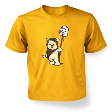Evil Ewok Kids T-shirt 