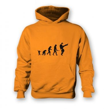 Evolution Of Silly Walks  kids hoodie