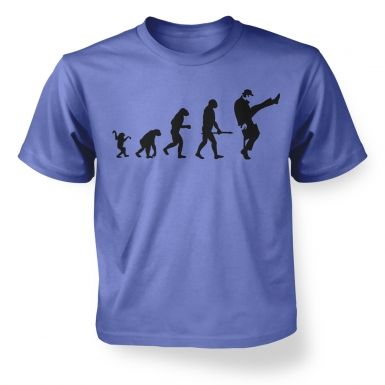 Evolution Of Silly Walks  kids t-shirt