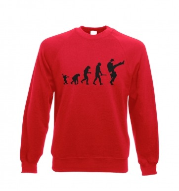 Evolution Of Silly Walks  sweatshirt