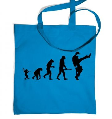 Evolution Of Silly Walks tote bag