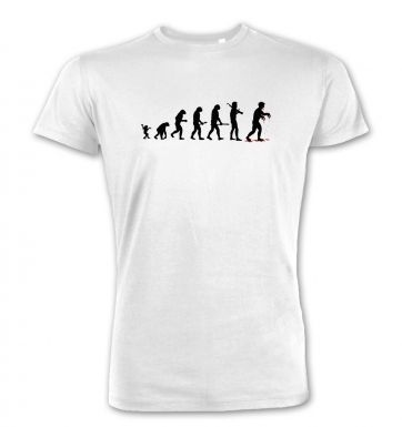 Evolution Of Zombies  premium t-shirt