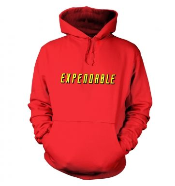 Expendable hoodie