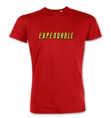 Expendable premium t-shirt