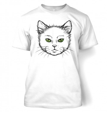 Eyes Of The Cat t-shirt (white)