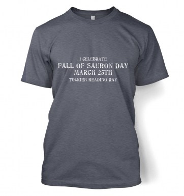 Fall Of Sauron Day t-shirt
