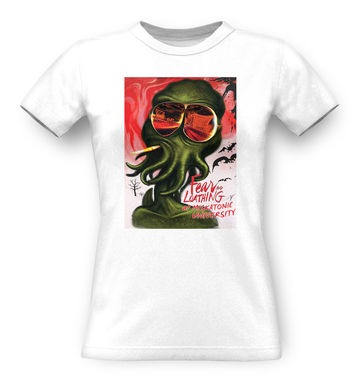 Fear And Loathing At Miskatonic University classic women's t-shirt