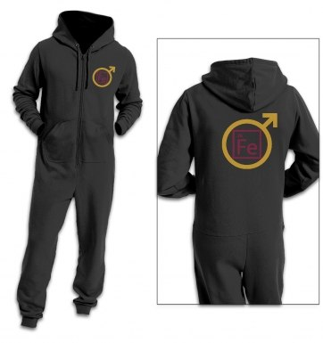 FE man adult premium warm onesie